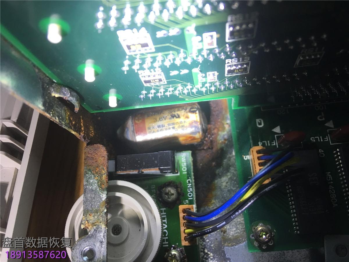 20年前的日立老工控机磁盘错误无法开机 成功解决20年前的日立老工控机磁盘错误无法开机