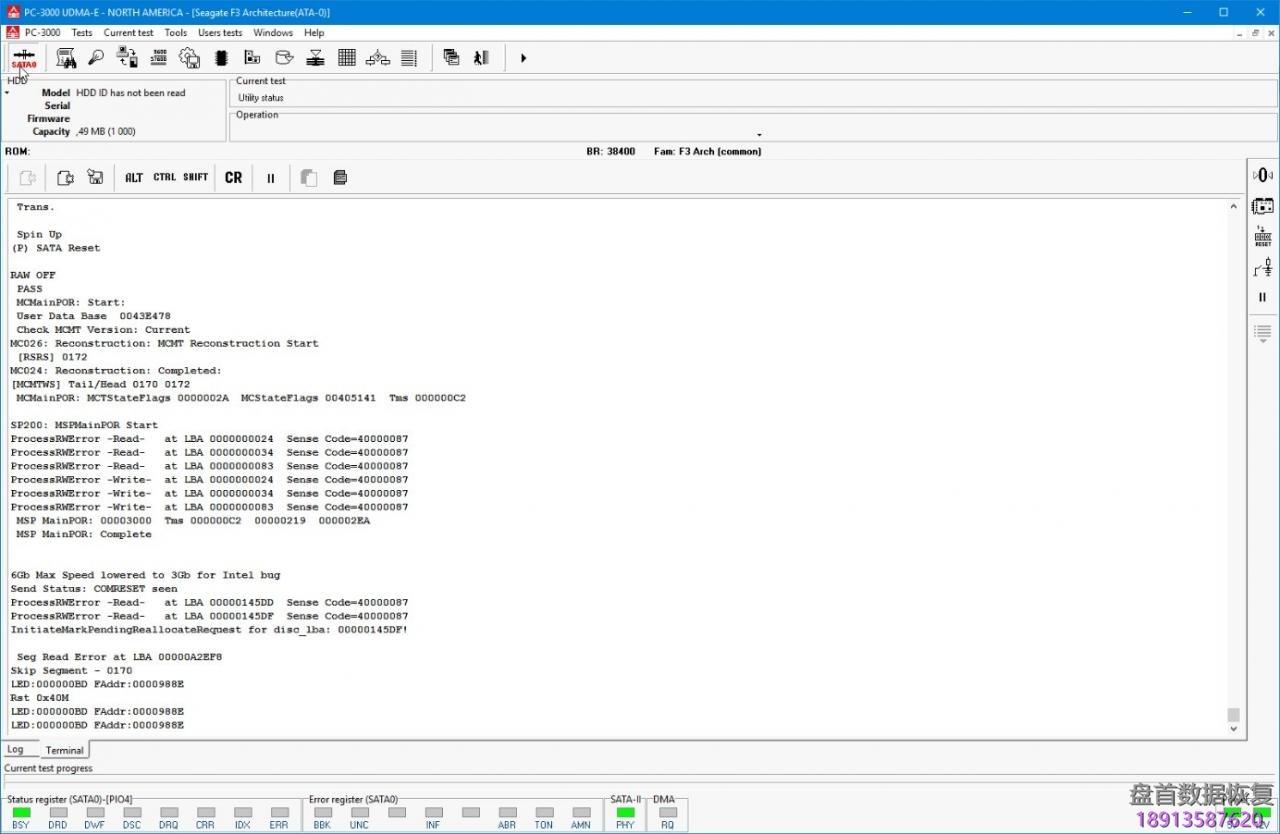 使用pc-3000处理seagate-f3系列硬盘的smp-flags问题 使用PC-3000处理Seagate F3系列硬盘的SMP flags问题