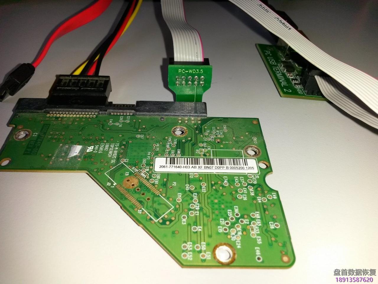 使用pc-3000-for-hdd的boot-romcom端口模式读写3-5和2-5西部数据硬盘的rom 使用PC-3000 for HDD的Boot ROM(COM端口)模式读写3.5和2.5西部数据硬盘的ROM