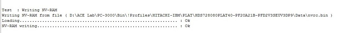 使用pc-3000-for-hdd解决日立ibm硬盘nvram问题的数据恢复 使用PC-3000 for HDD解决日立IBM硬盘NVRAM问题的数据恢复