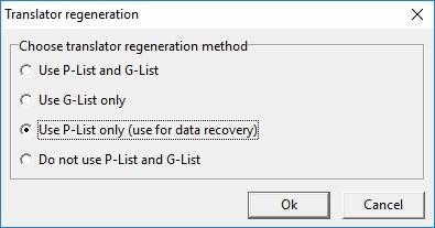 使用pc3000在wd-marvell硬盘上的p-list和翻译器再生 使用PC3000在WD Marvell硬盘上的P-List和翻译器再生