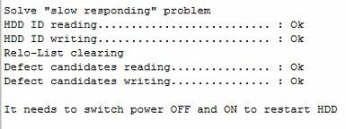 使用pc3000-for-hdd解决西部数据wd硬盘反应慢响应慢的问题 使用PC3000 for HDD解决西部数据WD硬盘反应慢响应慢的问题