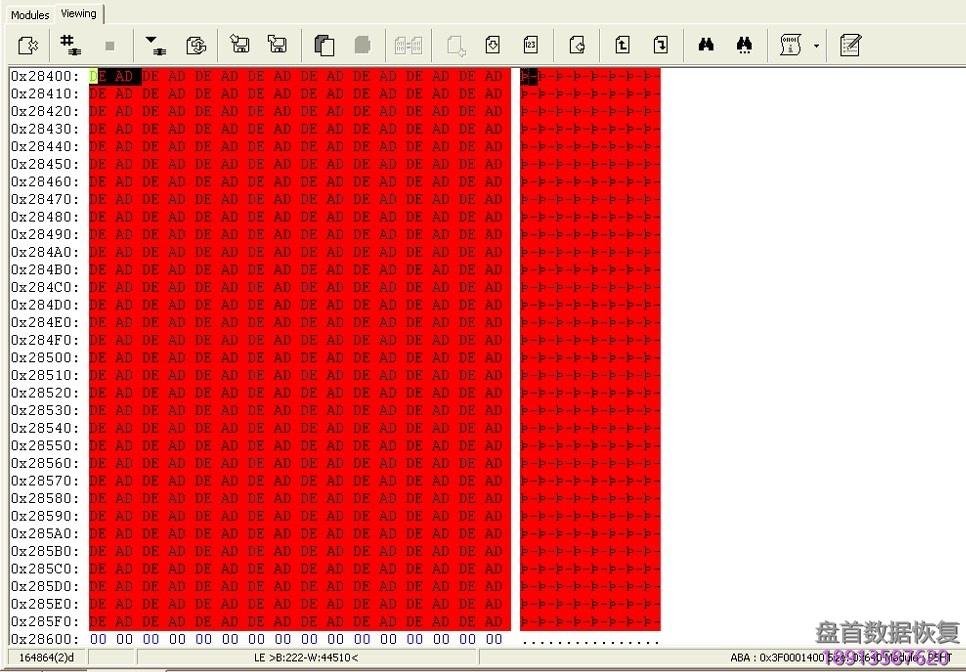 如果日立硬盘固件的两个副本都损坏,如何使用pc3000 如果日立硬盘固件的两个副本都损坏,如何使用PC3000进行修复SA模块。