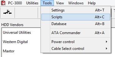 pc-3000-database-硬盘固件数据库-文件夹出现问题解决办法 PC-3000 Database 硬盘固件数据库 文件夹出现问题解决办法