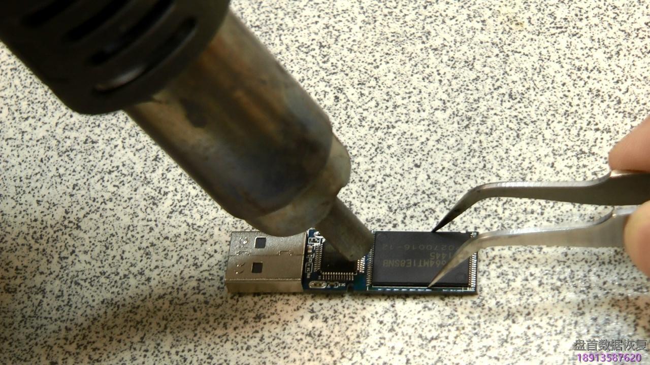 pc-3000-flash如何解焊tsop48-56内存芯片 PC-3000 Flash如何解焊tsop48 56内存芯片