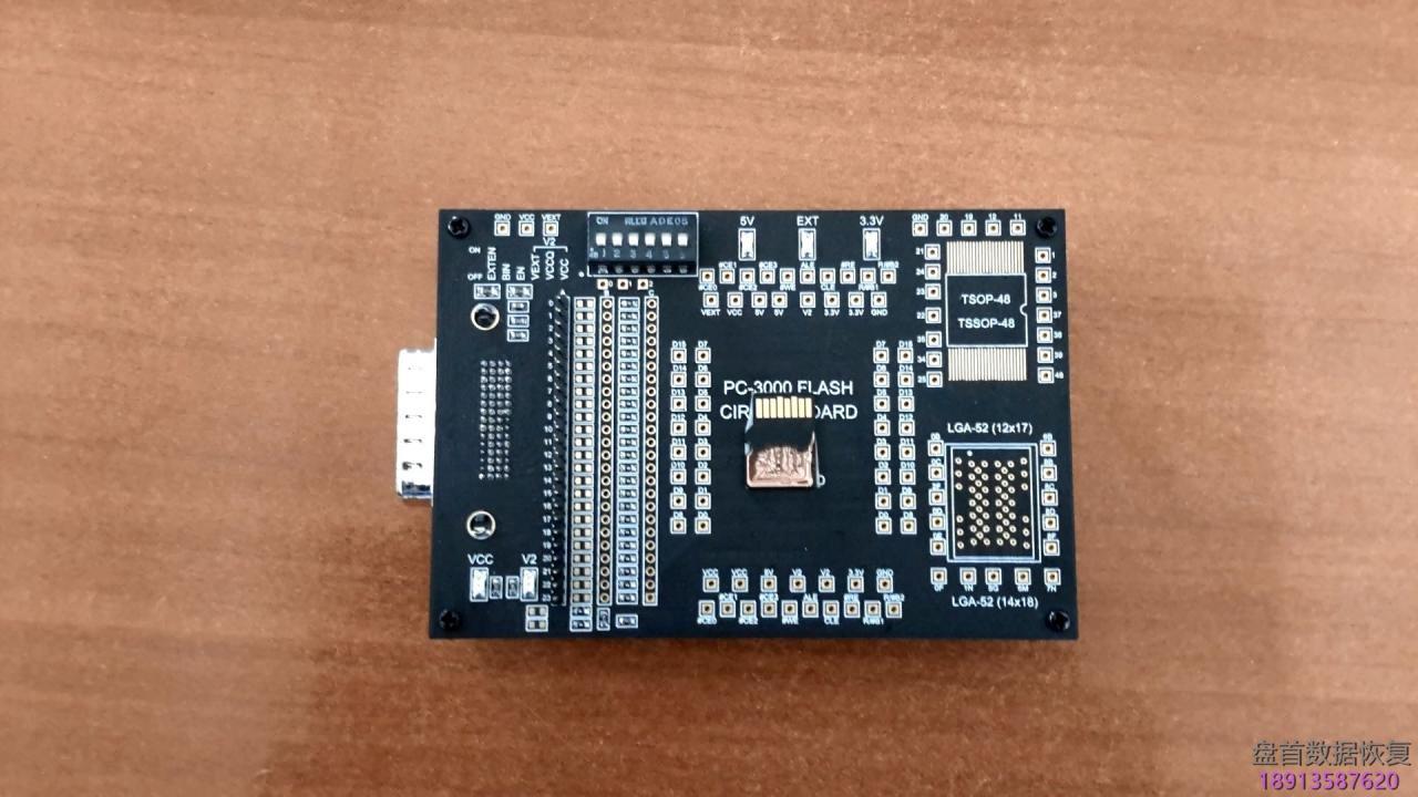 pc3000-flash如何恢复一体flash芯片封装micro-sd卡tf卡的数据恢复全 PC3000 Flash如何恢复一体FLASH芯片封装(micro SD卡/TF卡)的数据恢复全过程