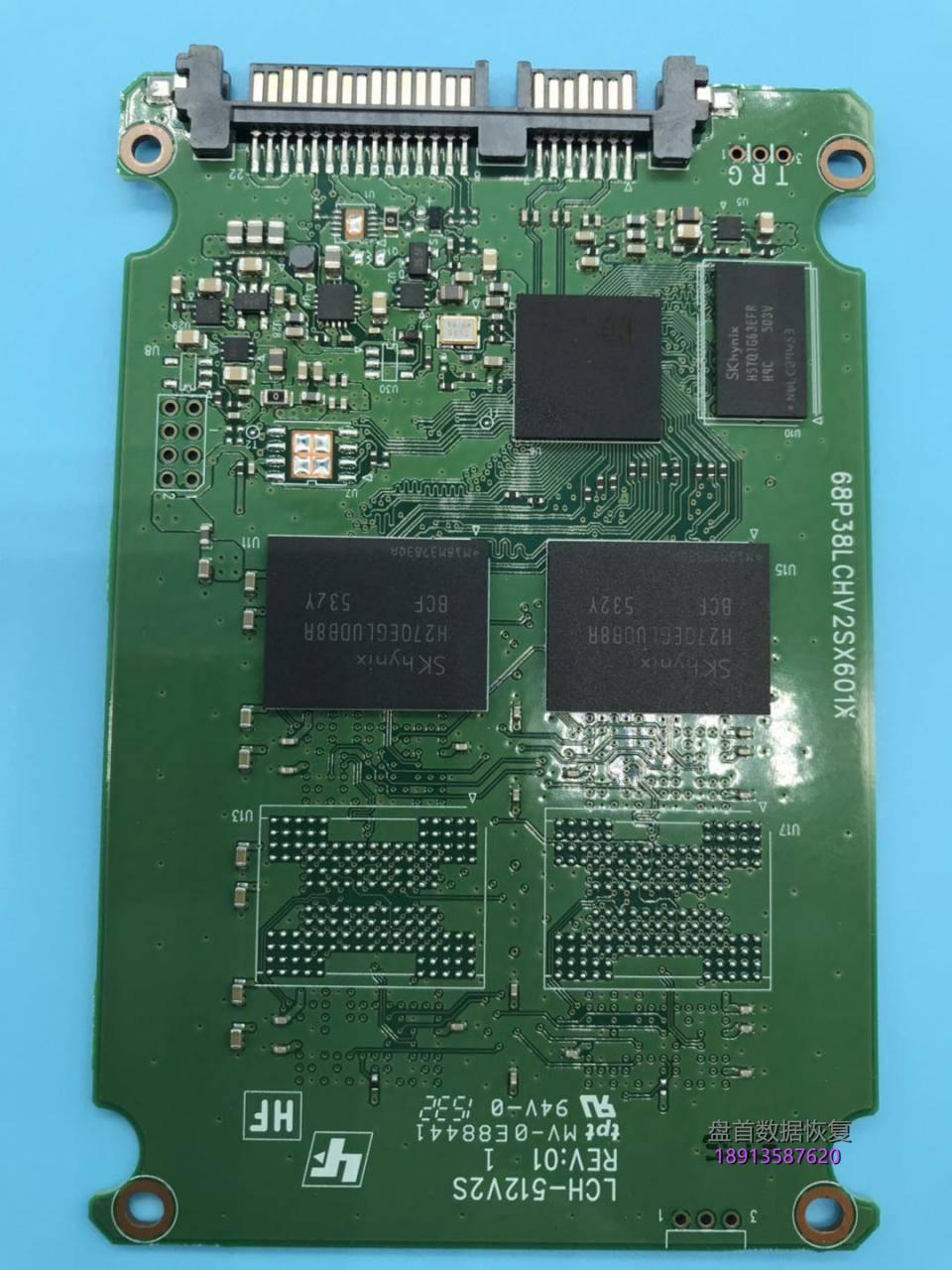 建兴lch-128v2s掉盘卡死在开机画面无法识别到固态硬盘数 建兴LCH-128V2S掉盘卡死在开机画面无法识别主控型号SM2246XT固态硬盘数据恢复成功