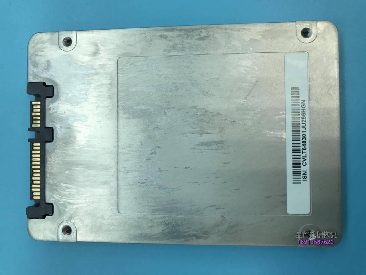 英特尔ssdsc2kf256h6l-256g-ssd固态硬盘掉盘无法识别数据恢复成功 英特尔SSDSC2KF256H6L-256G SSD固态硬盘掉盘无法识别数据恢复成功