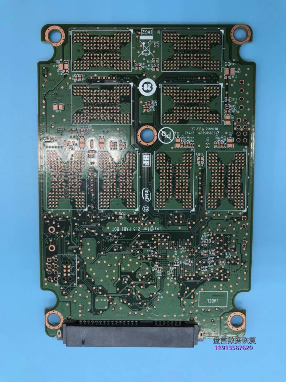 英特尔ssd5400s固态硬盘掉盘无法识别不读盘了主控sm2258g数 英特尔SSDSC2KF256H6固态硬盘掉盘无法识别不读盘了主控SM2258G数据恢复完美成功