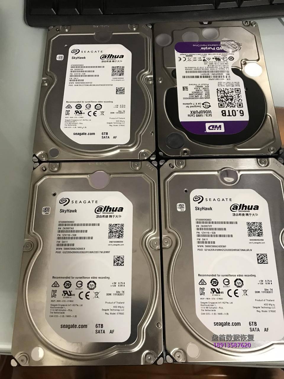 完美恢复diy服务器4块6tb硬盘raid5阵列出错导致2块硬盘同 完美恢复DIY服务器4块6TB硬盘RAID5阵列出错导致2块硬盘同时掉线数据恢复成功