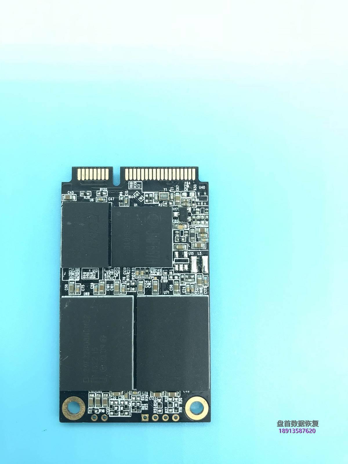 0-1 影驰战将M128G型号JMF667H主控SSD固态硬盘掉盘后不能读取数据无法识别数据恢复成功