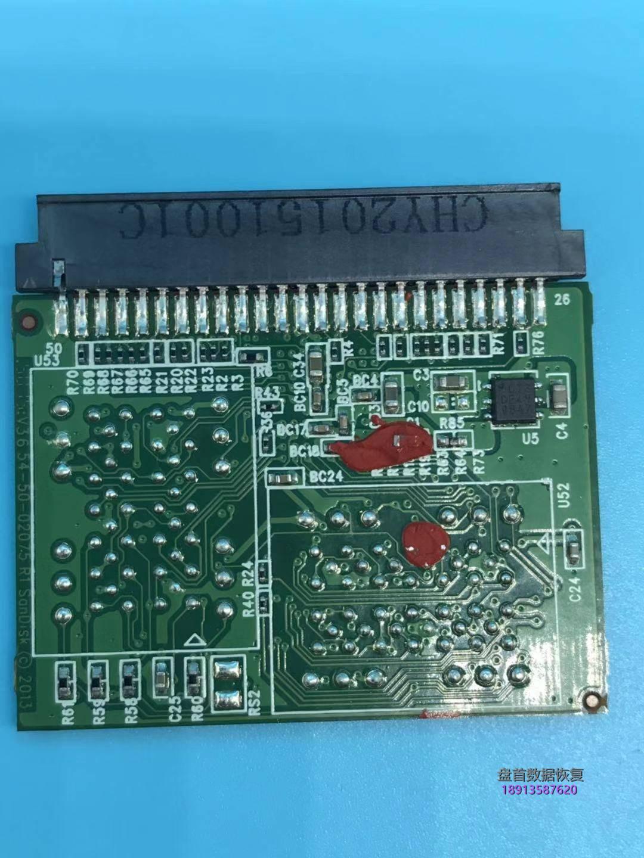 0-4 64G闪迪SANDISKCF卡无法识别插入电脑显示无媒体相机读不出来芯片级数据恢复成功