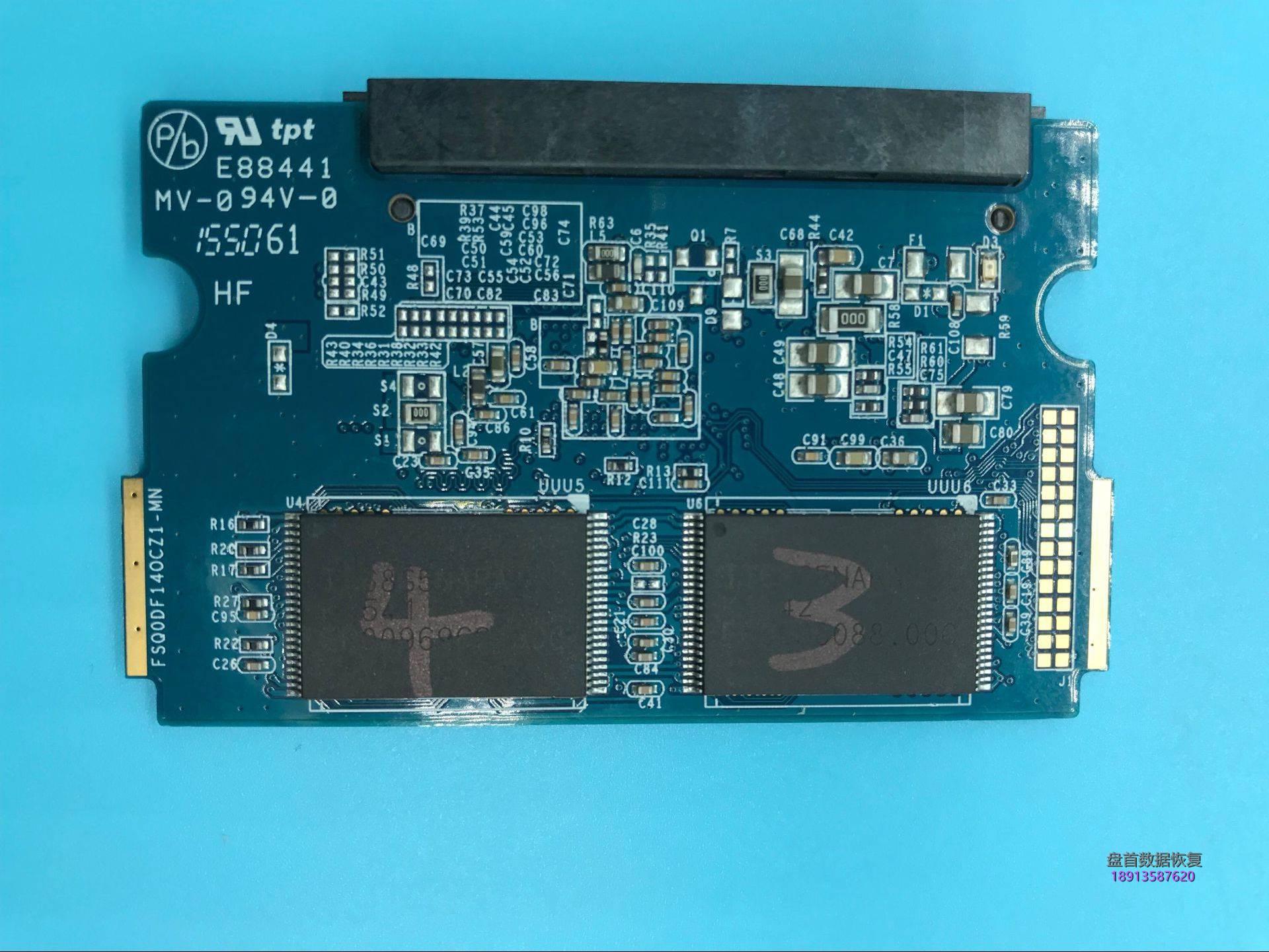 5459C0C9ED7B1EF79C88FF33ED574624 二次恢复影驰120G固态硬盘主控PS3109芯片级数据恢复成功