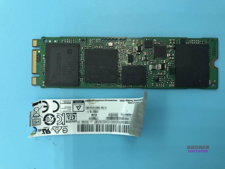 0-10 MZNLN256HCHP-000L2主控S4LN062X01-Y030三星SSD固态硬盘损坏无法识别数据恢复成功