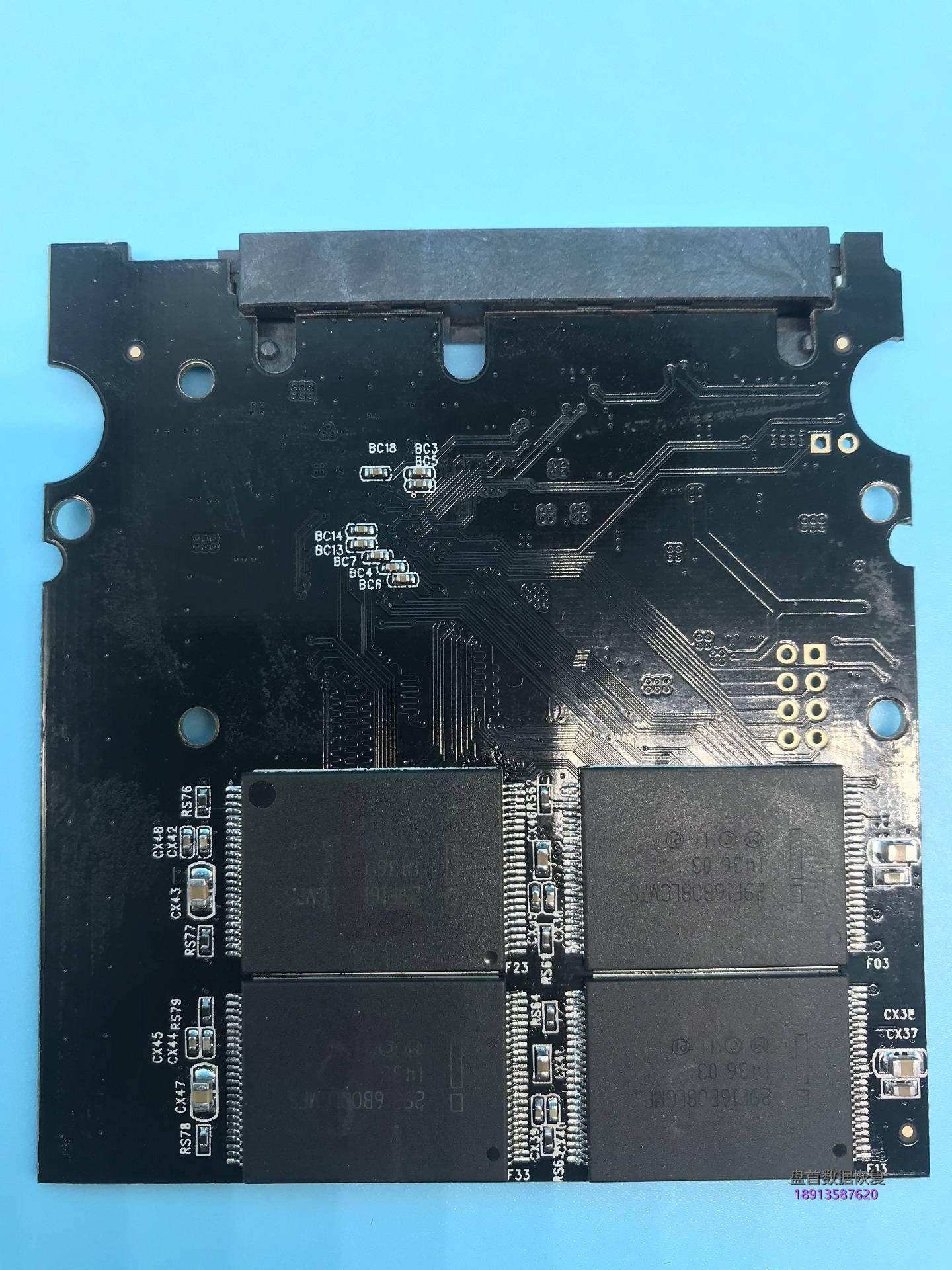 0-4 SM2246XT芯片级数据恢复操作SSD固态硬盘二次恢复BSY长忙掉盘不读盘不识别情况