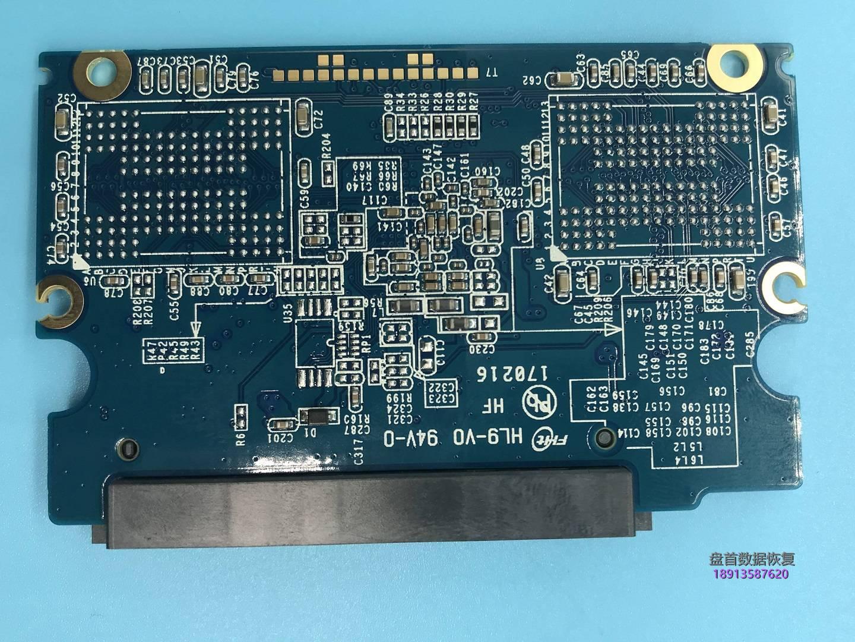 0-8 影驰120G固态硬盘PS3111主控变成SATAFIRM S11存储芯片FLASH损坏了一个通道数据恢复成功