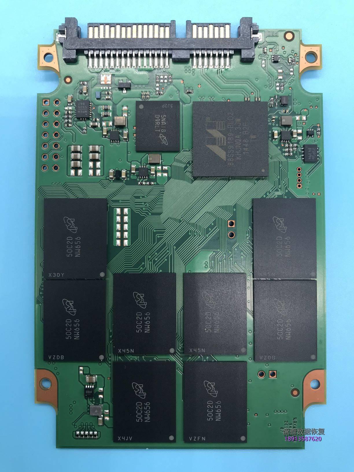 0-27 CT250MX200SSD1英睿达MX200掉盘无法识别读不出数据恢复成功