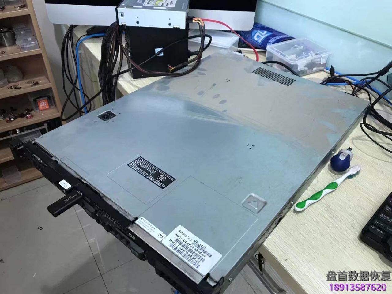 dell-r410金蝶k3数据库数据恢复成功,三盘raid5基中两块硬盘 DELL R410金蝶K3数据库数据恢复成功,三盘RAID5基中两块硬盘损坏