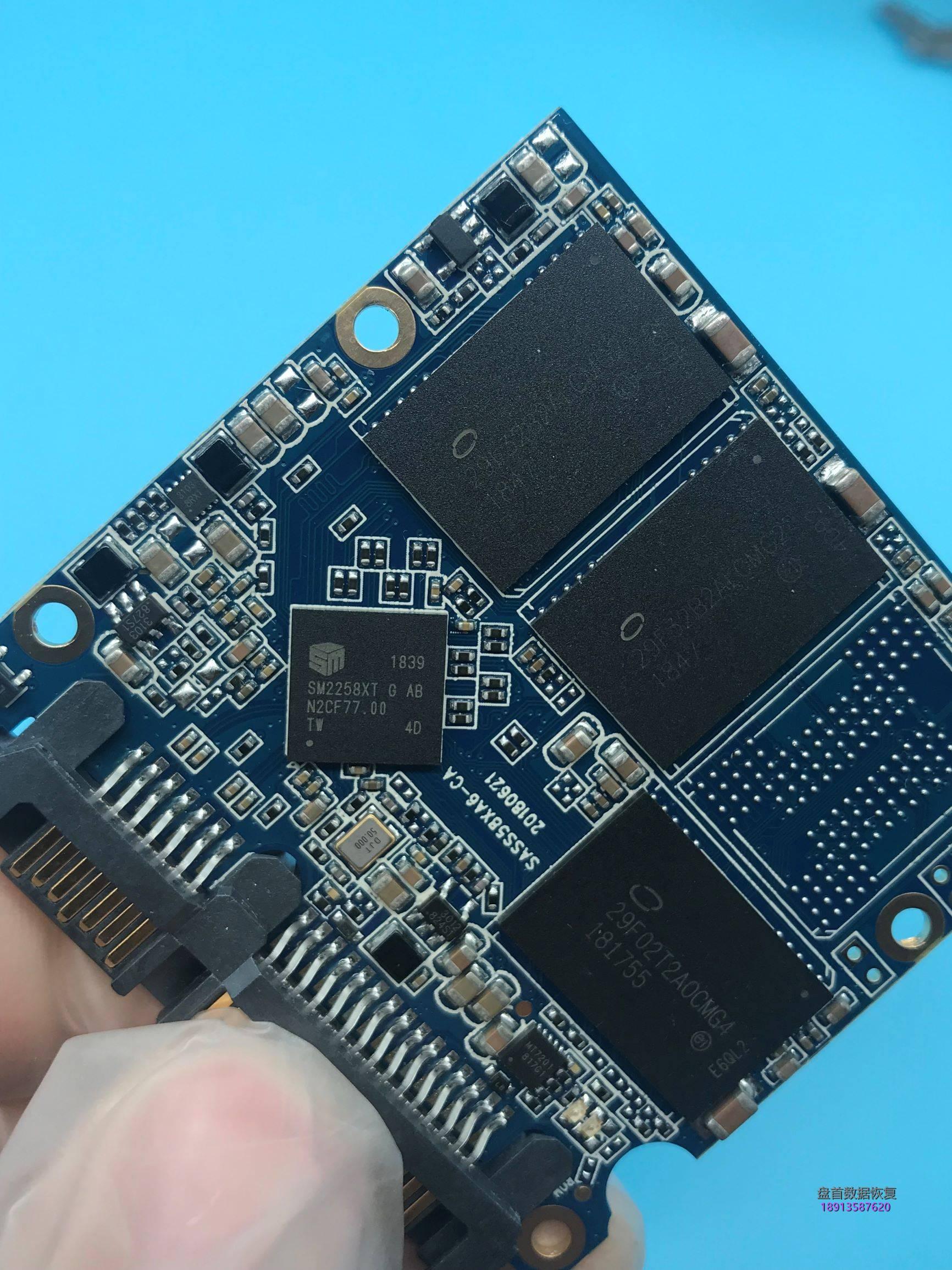 0-4 朗科N530S480G SSD固态硬盘SM2258XT主控掉盘无法识别数据成功恢复