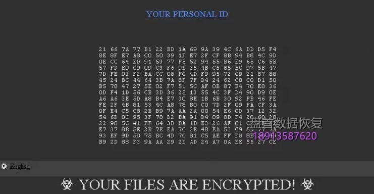 1463ccbf6c81800ad344afd8bb3533fa838b477a GOTHAM/CHAK/TRUE/YAYA/FREEMAN/LIN/BUNNY后缀如何解密并恢复数据文件