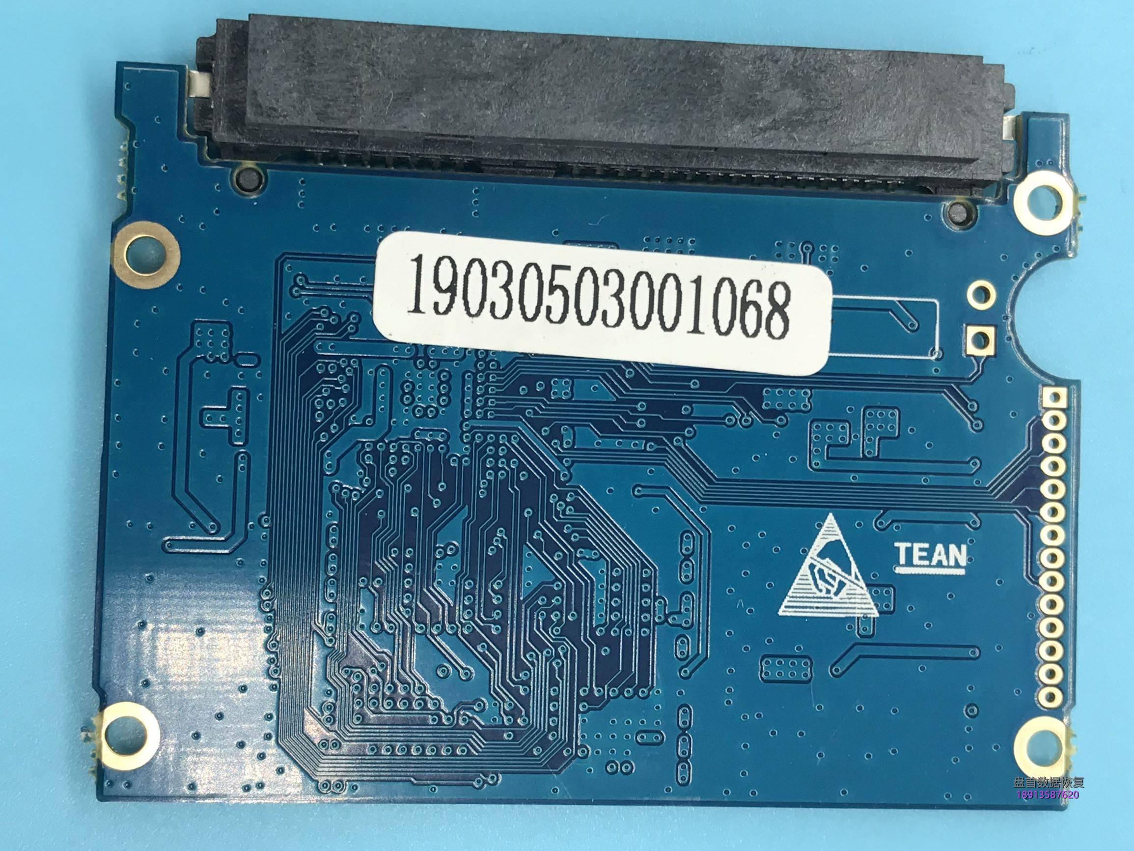 0-3 士必得M3-180G固态硬盘突然无法识别无法使用主控AS2258-BN掉盘不识别数据恢复成功