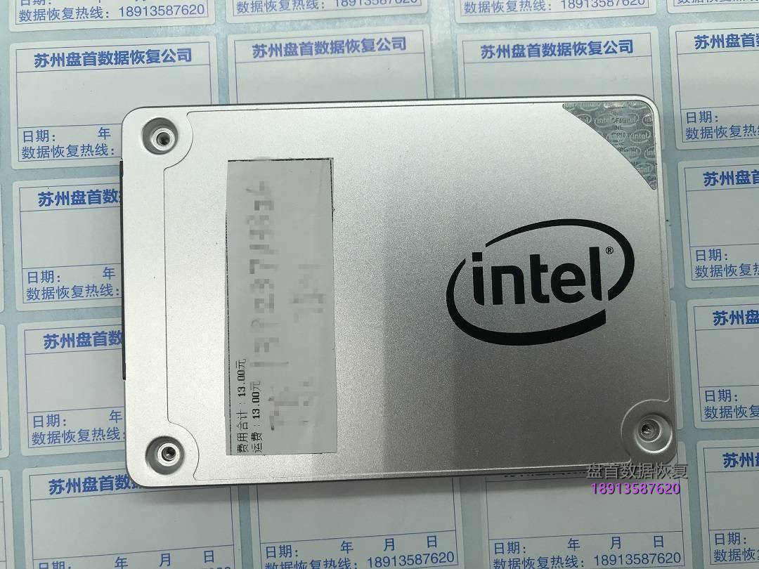 0-12 英特尔SSD固态硬盘损坏无法识别intel SSD 540s Series 120G固态硬盘数据恢复成功主控SM2258G