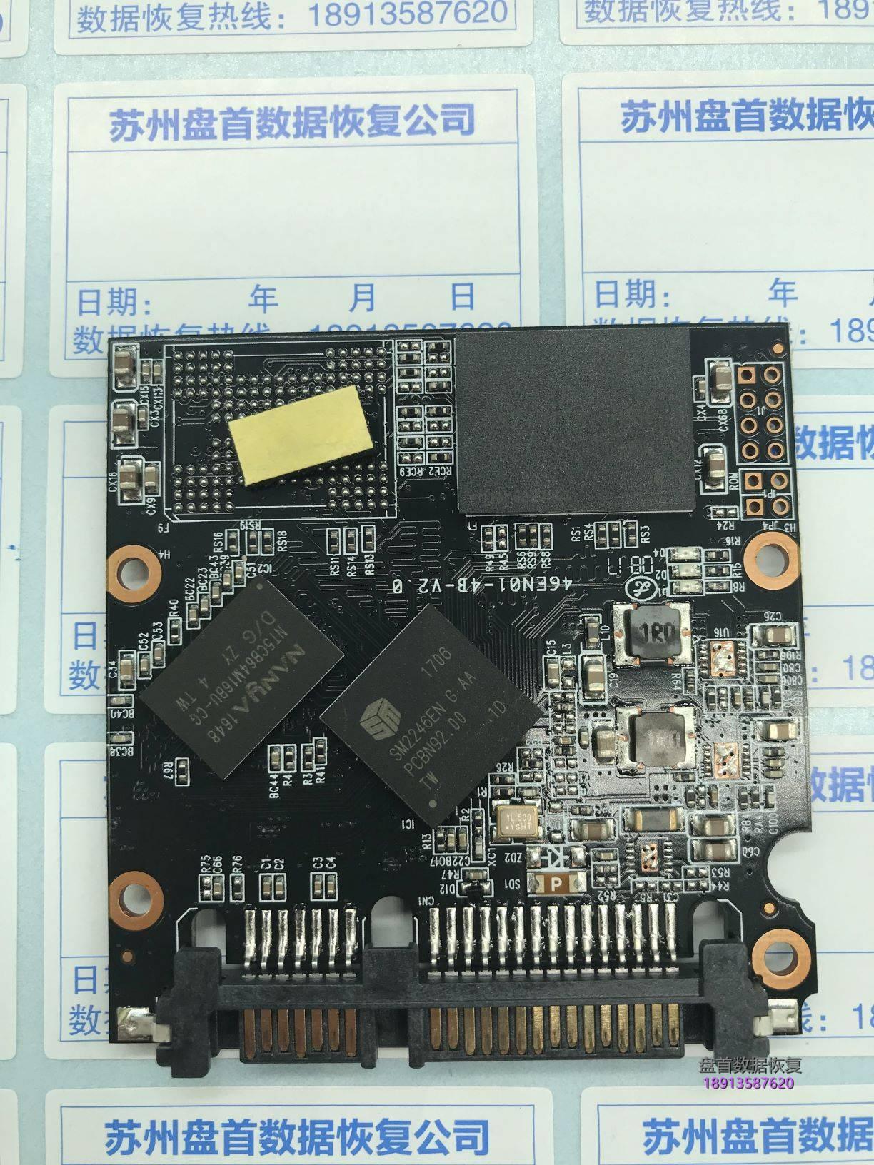 0-2 成功完美修复众拾ADV120G固态硬盘无法识别不认盘主控SM2246EN G AA