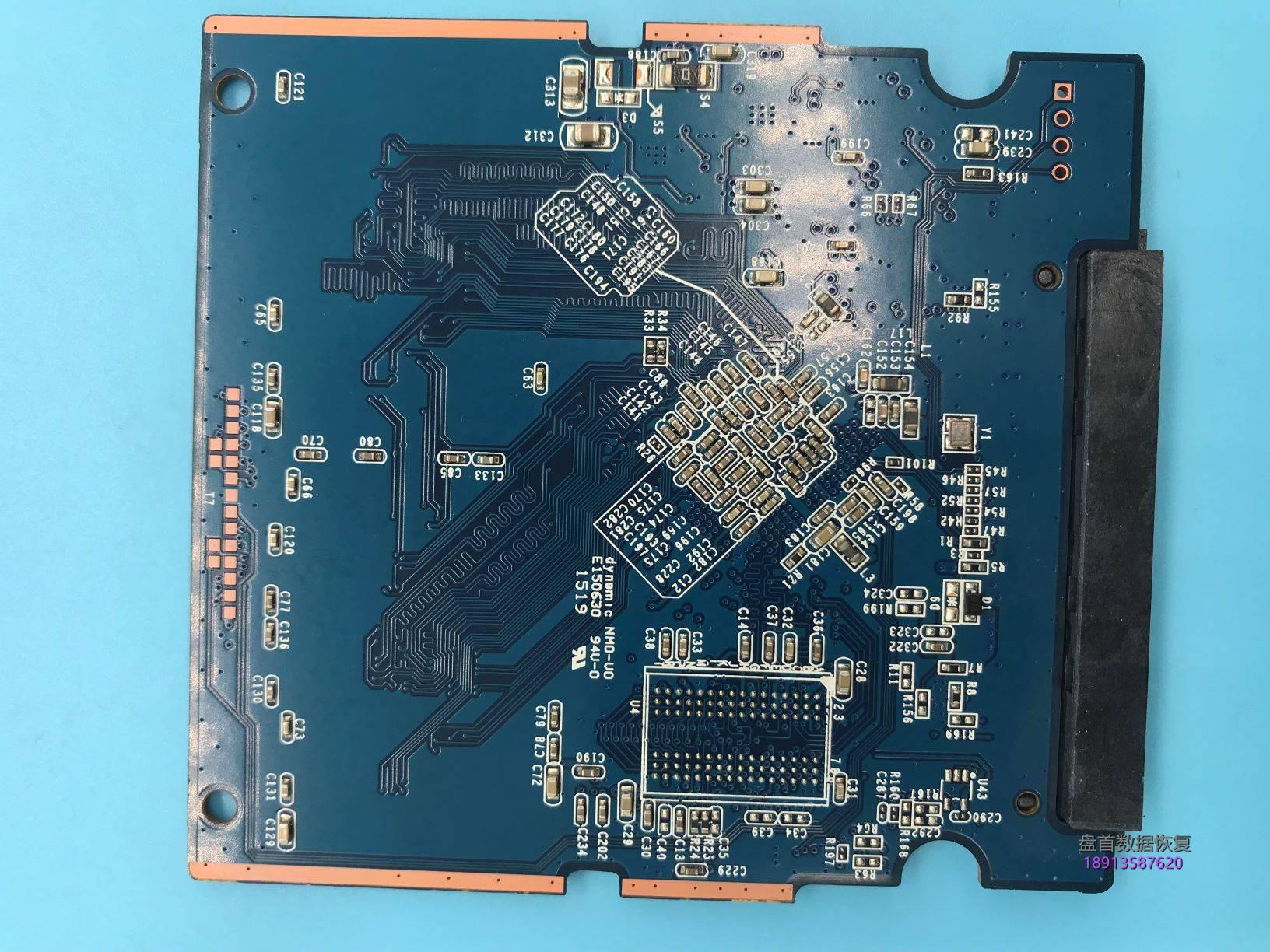 0-15 使用PC3000 SSD成功修复TC58NC1000GSB主控东芝Q300掉盘无法识别不认盘数据恢复成功