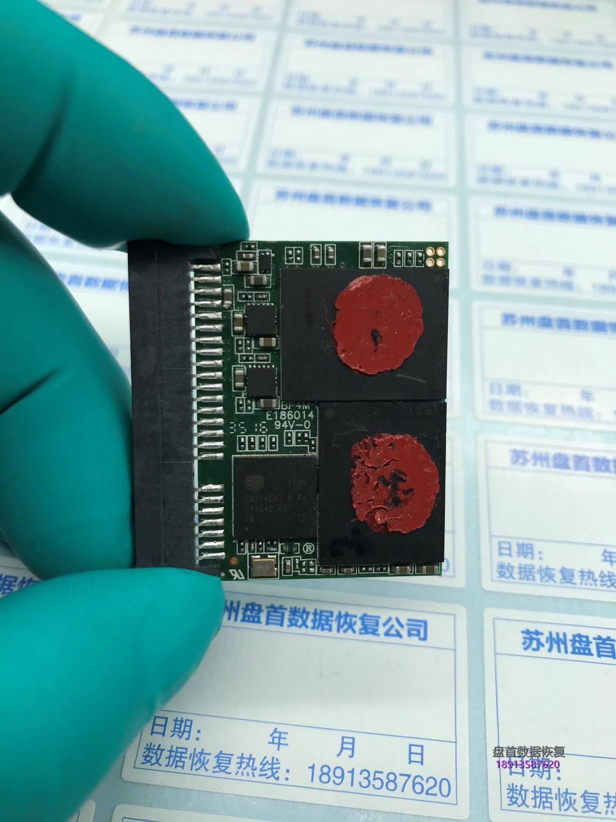 0 雷克沙CFast 2.0 3600X高速CF卡损坏无法识别芯片级数据恢复完美成功