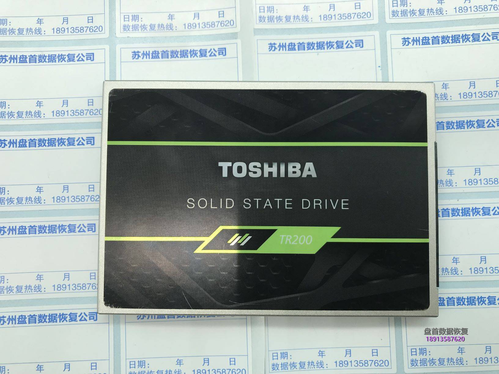 0-13 东芝TR200固态硬盘掉盘无法识别TC58NC1010GSB-00(PS3111)主控无法加载loader完美二次恢复成功